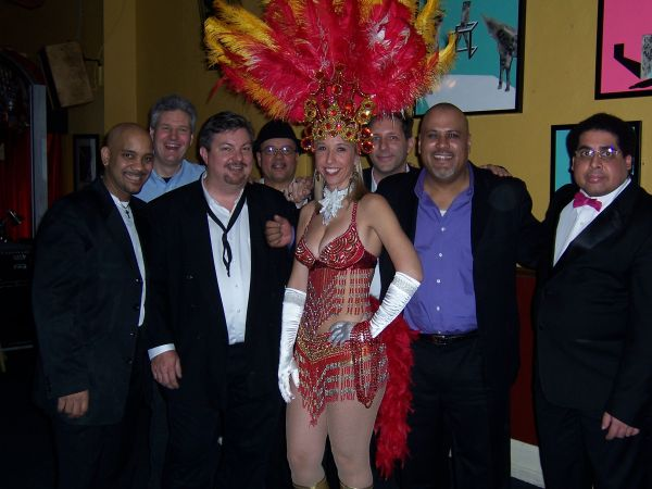 with noel quintana's latin crew at night town in cleveland ohio
